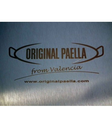 Paellas grabadas 9 x 4 cm personalizadas