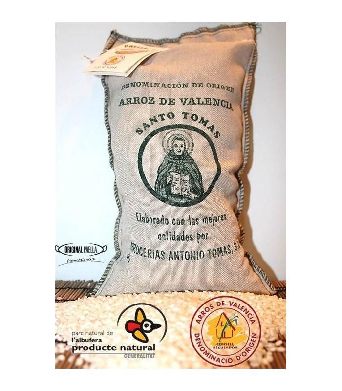 Sacco di riso da paella valenziano 1 kg for Cuocere 1 kg di riso